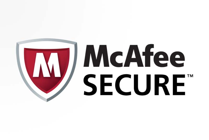 Logo McAfee Secure